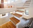 Vorgartengestaltung Inspirierend Freie Treppe Weiß Stahl Randgerüst Holz Elemente