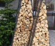 Wagenrad Deko Einzigartig 10 Diy Firewood Rack Ideas with Ingenious Designs