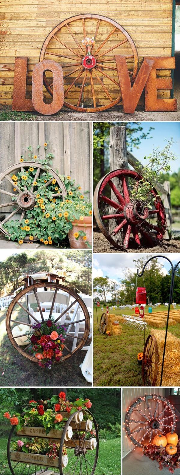 d5f2d705a783e336f48 wagon wheel landscaping landscaping rustic