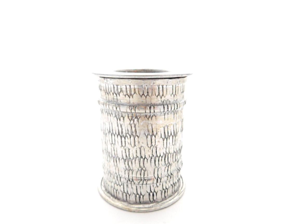kerzenst nder aluminium muster fairtrade teelicht in n