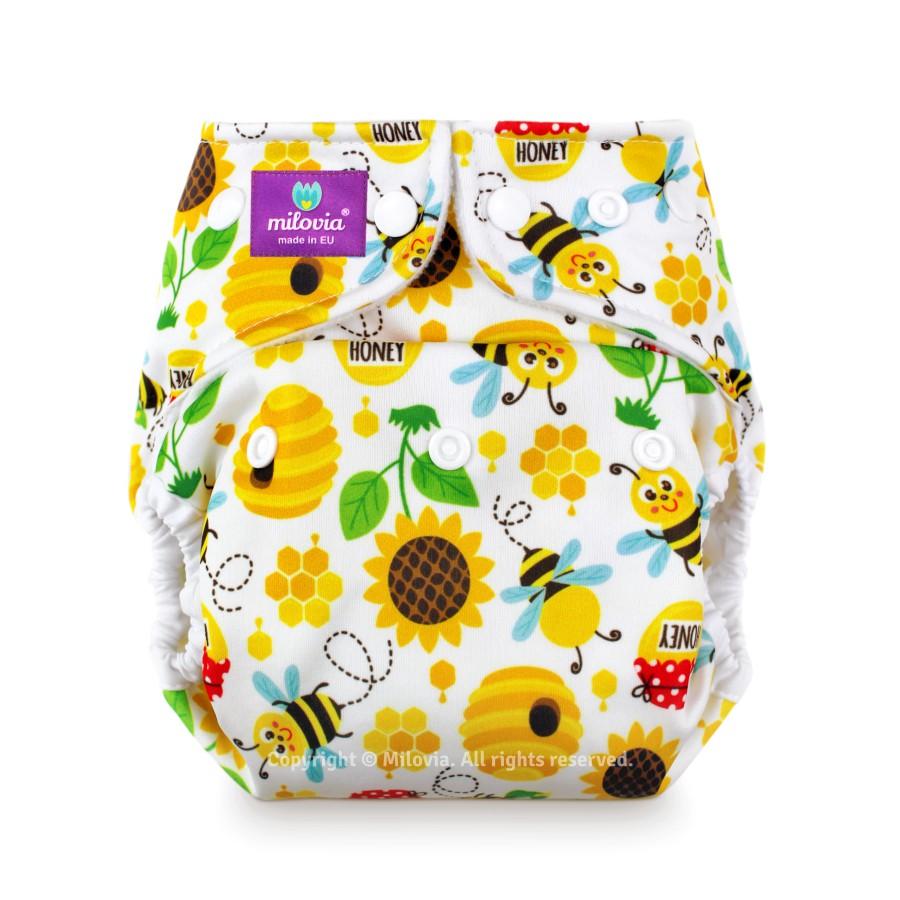 milovia nappy cover one size Sweet Bee 2