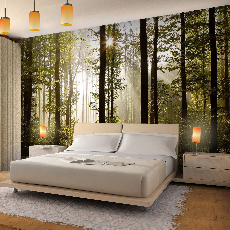 Wanddeko Draußen Best Of sonnestrahlen Wald 3dlook Fenster Wandtattoo Aufkleberstic