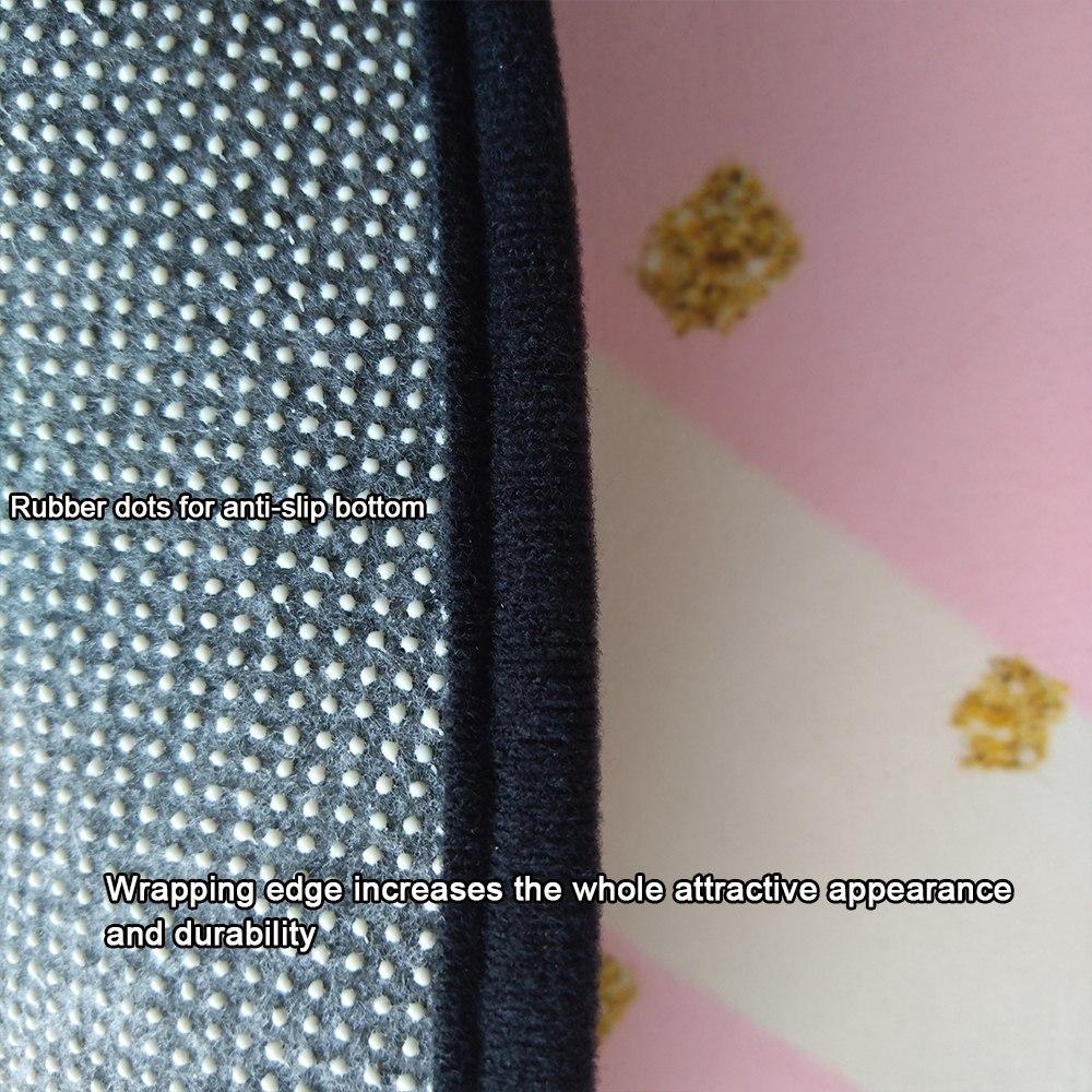moderne madchen zimmer mit mode moderne rosa bold striped golden dots anti slip runde 70 und mode 20moderne 20rosa 20bold 20striped 20golden 20dots 20anti slip 20runde 20matte 20wohnzimmer 20schlafzim