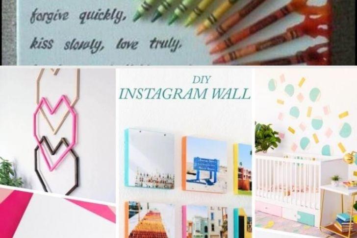 Wanddeko Selber Machen Genial Wanddeko Selber Machen 138 tolle Ideen Für Ihr Zuhause