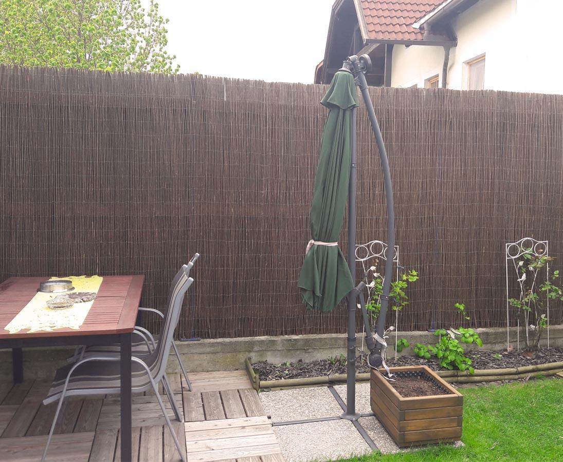 Terrassen Sichtschutz Weide Hawei 150 300cm 1OoBVhlILz41Nl