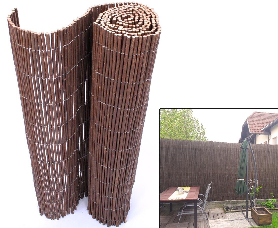 Terrassen Sichtschutz Weide Hawei 150 300cmENKVmH1g74EVQ