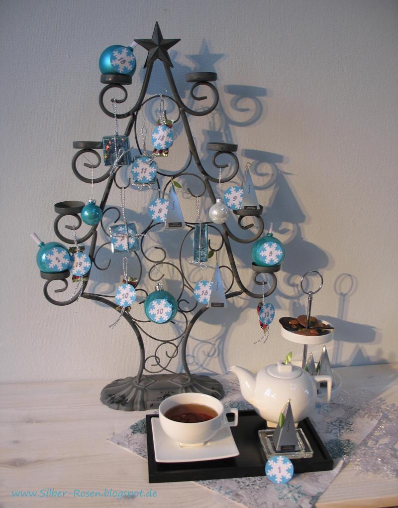Adventskalender mit Tee