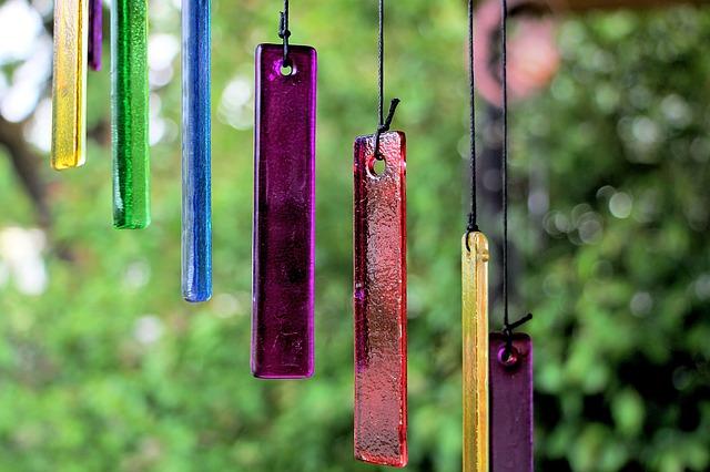 selbstgemachte windspiele 6 ideen fuer garten und balkon