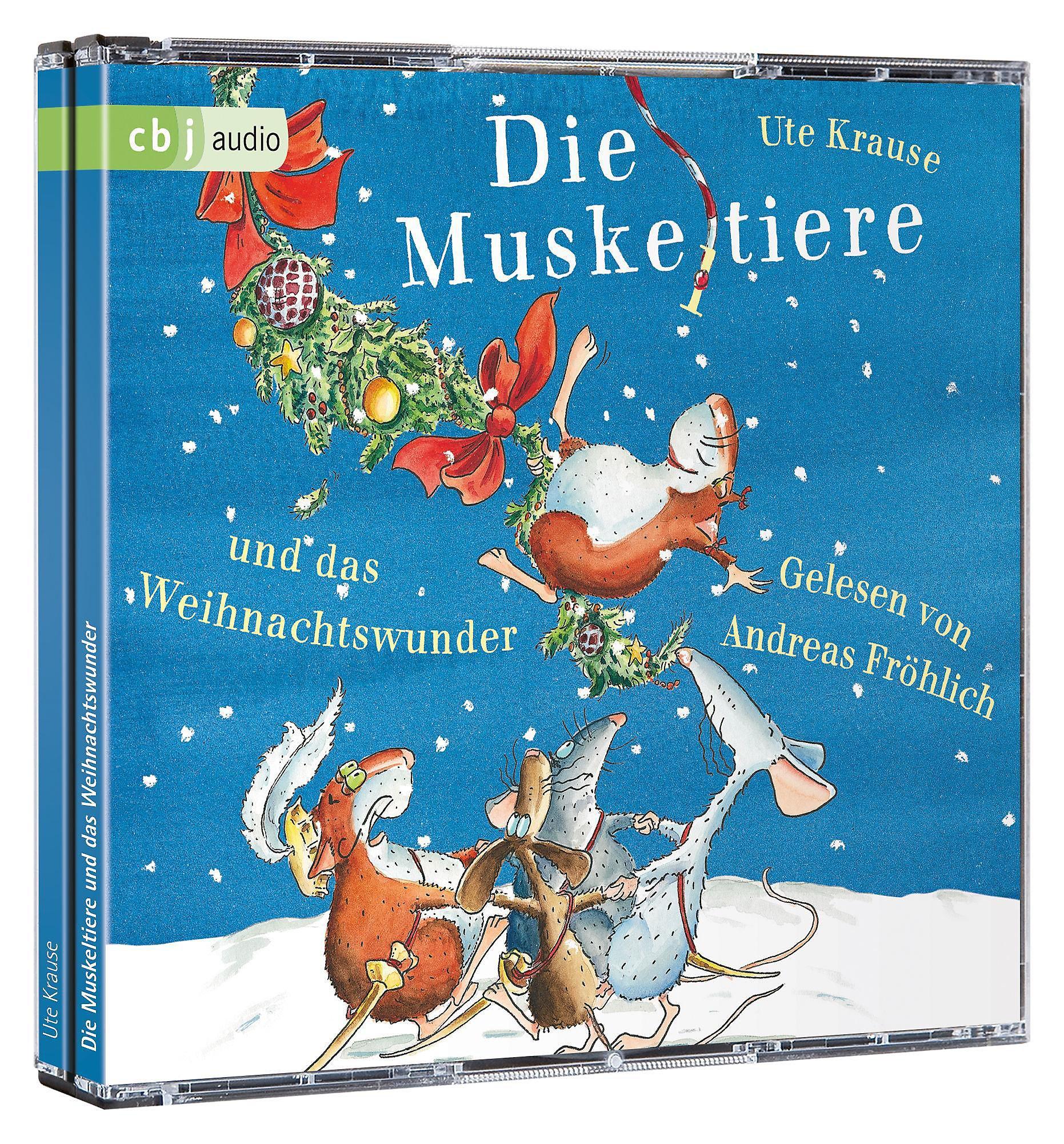 muskeltiere und das weihnachtswunder 3 audio cds