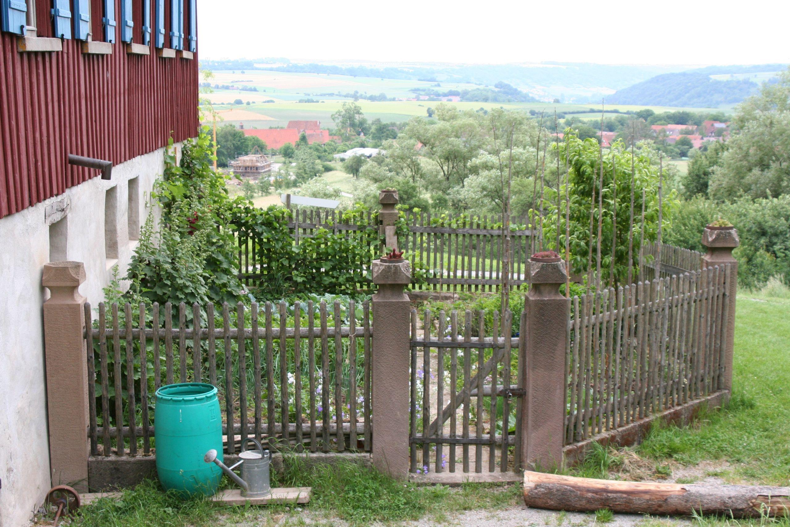 Wackershofen Freilandmuseum Kaeshof Garten