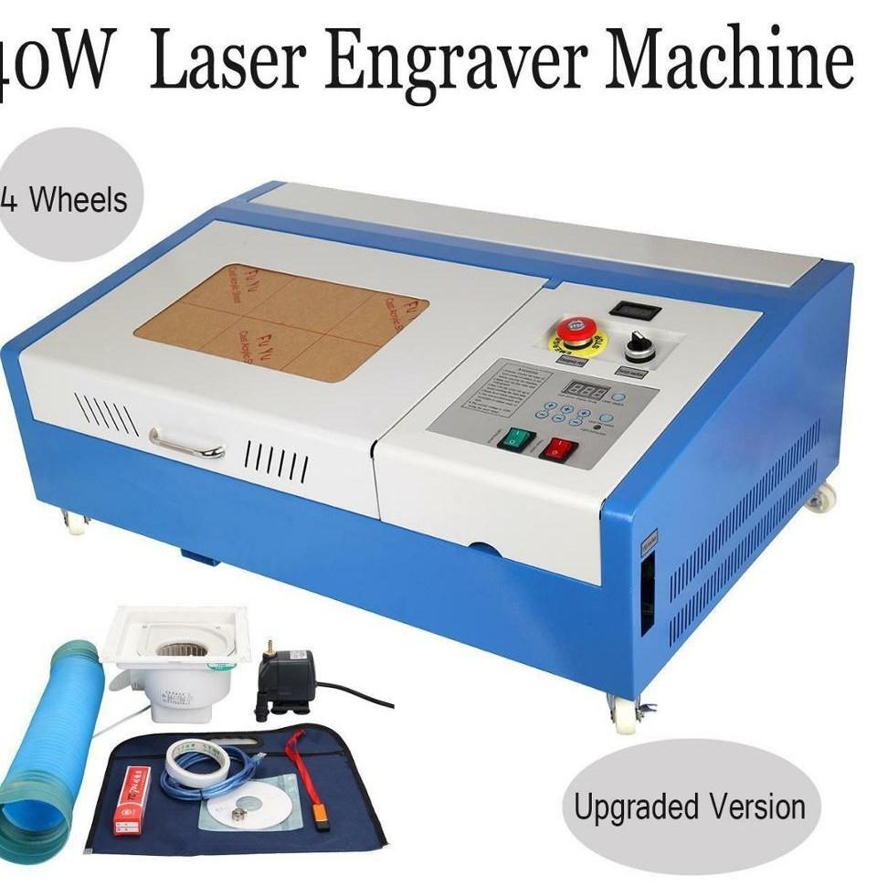 40W font b CO2 b font USB font b laser b font Engraving Cutting Machine font