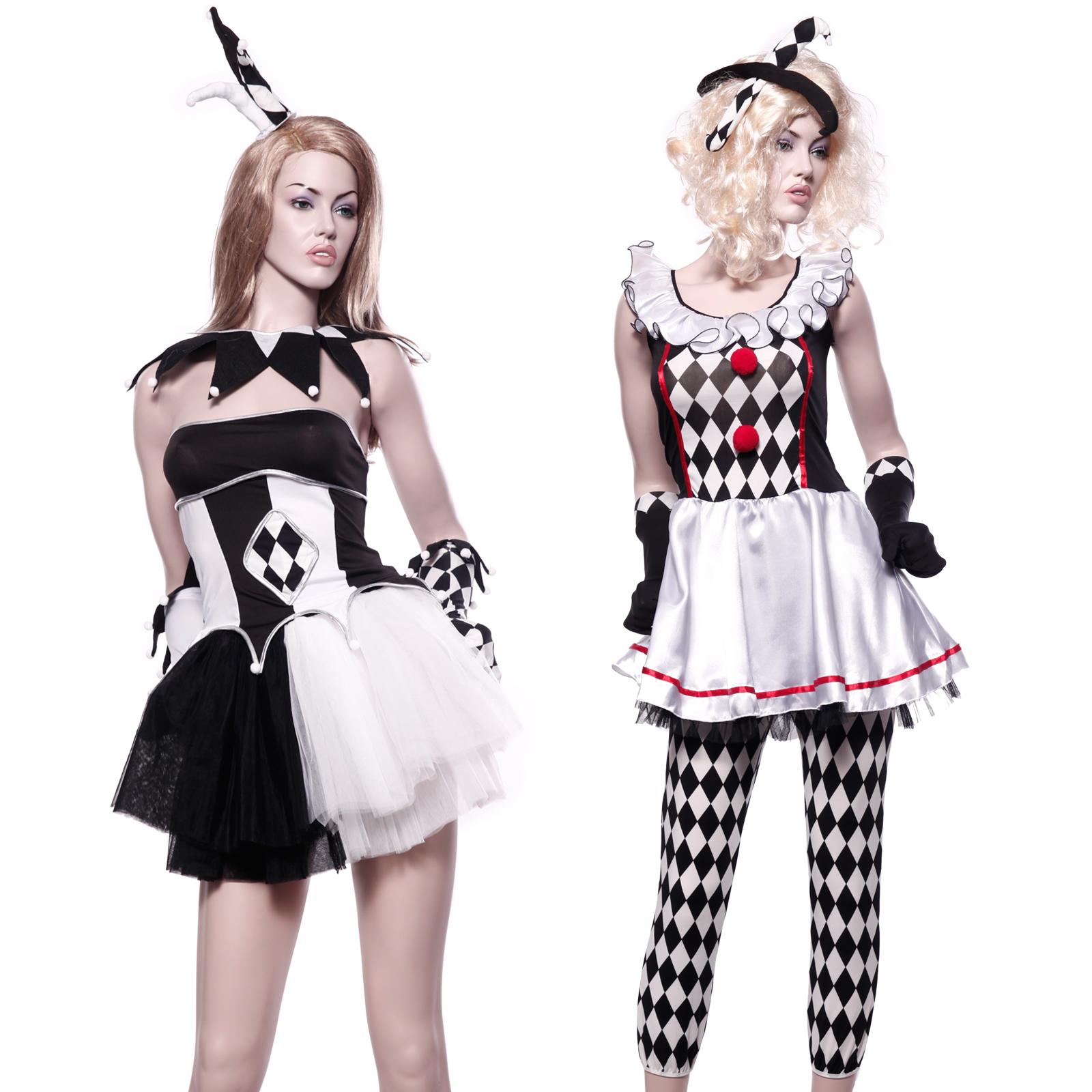 Zombie Kostüme Damen Best Of Hofnarr Joker Zombie Kostüm Y Halloween Horror Fasching