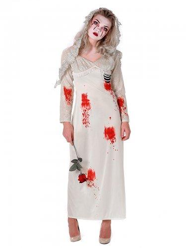 Zombie Kostüme Damen Elegant Zombie Bride Kostüm Damen Kostüme Für Erwachsene Und