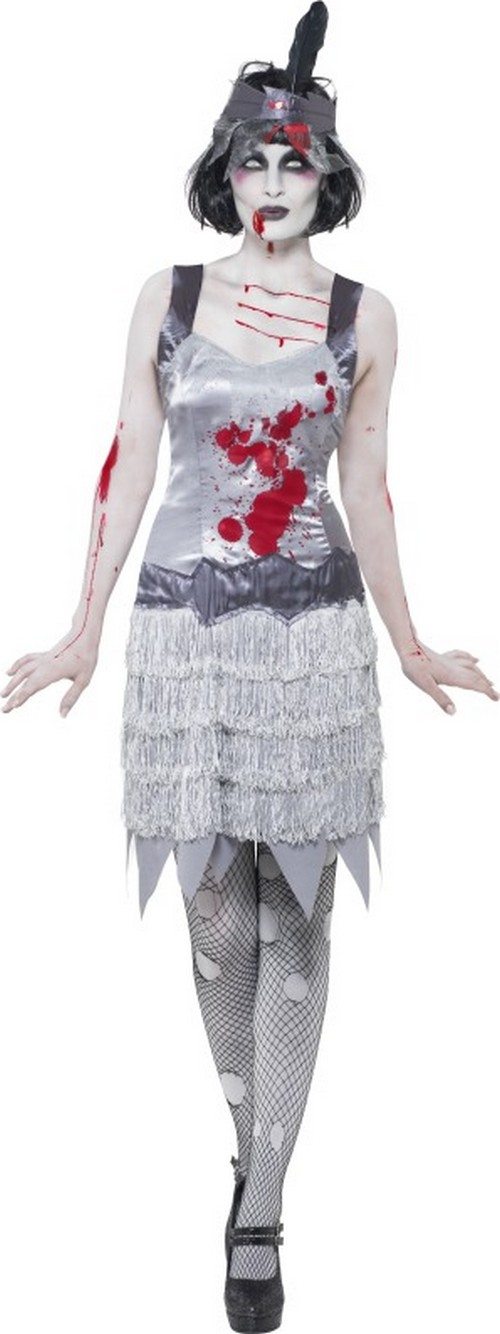 p halloween zombie charleston kostum fur damen