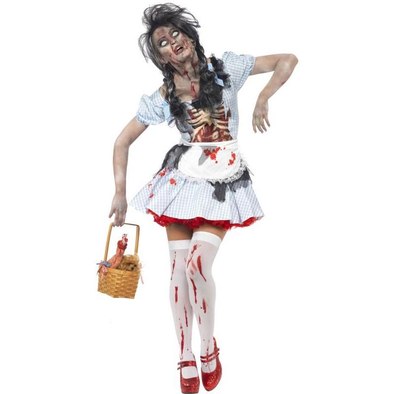 totkaeppchen horror zombie kostuem