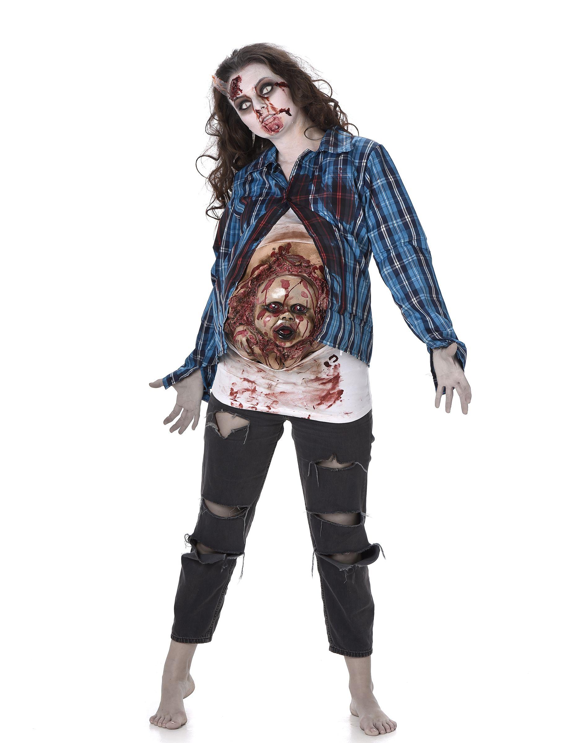 Zombie Kostüme Damen Neu Épinglé Sur Halloween Zombie
