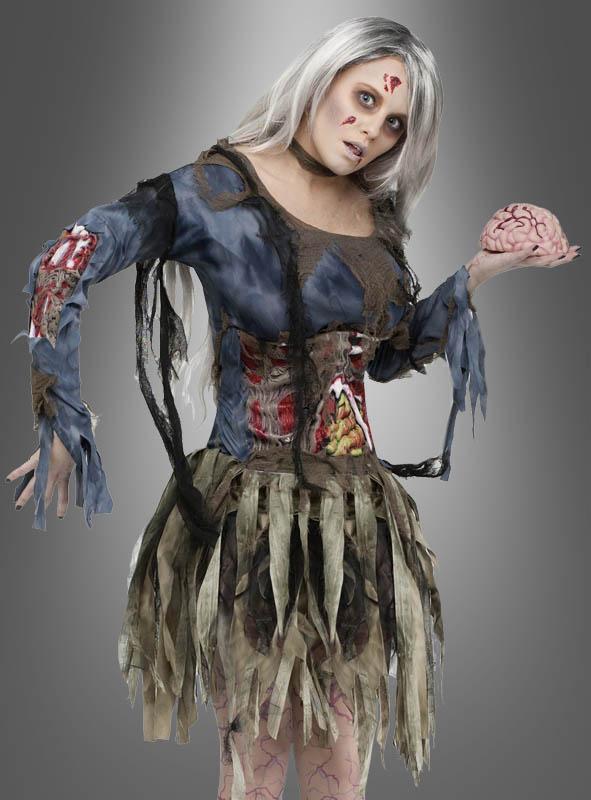 Zombie Taenzerin Kostuem