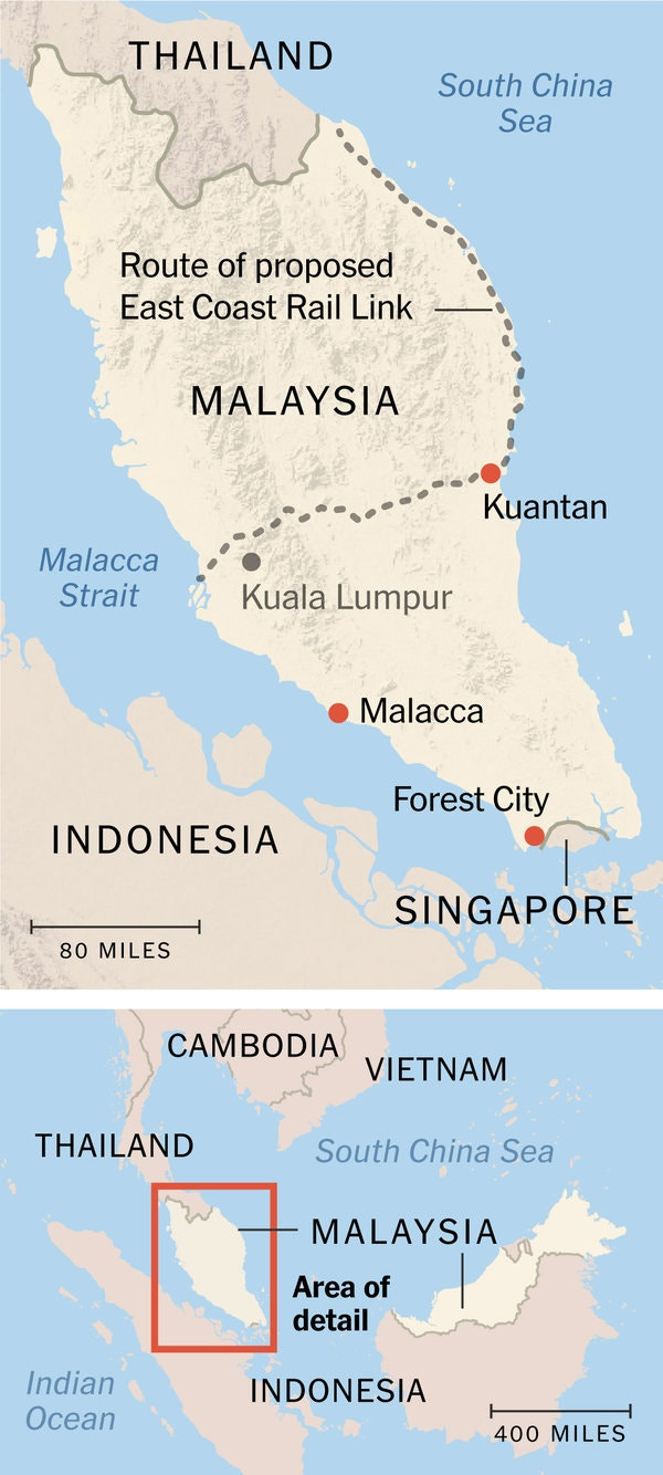 malaysia map article