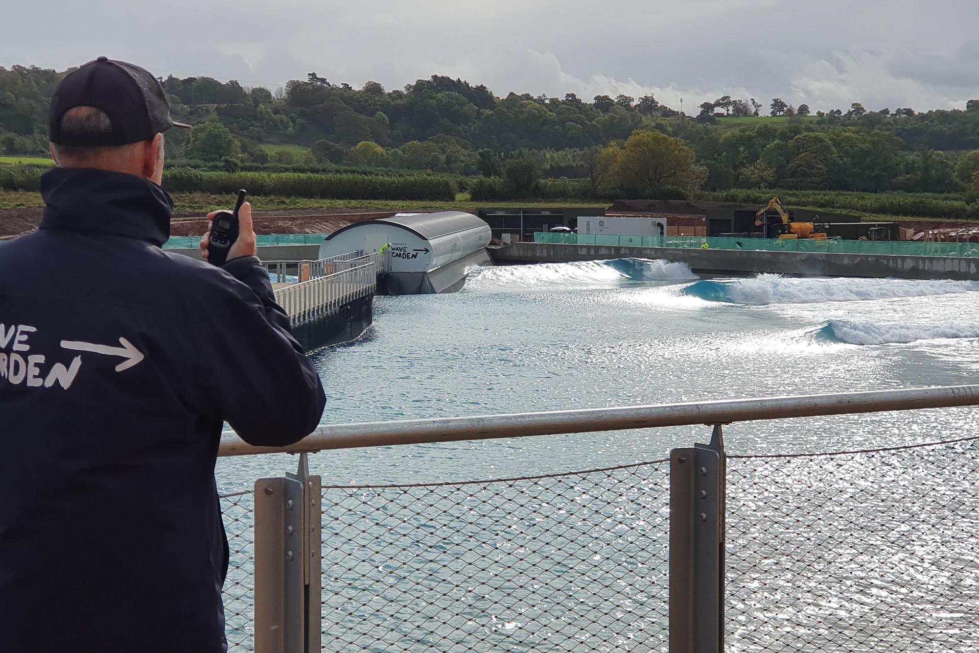 Asia Garten Ottobrunn Luxus First Waves Break at Bristol S Wavepool Surfline
