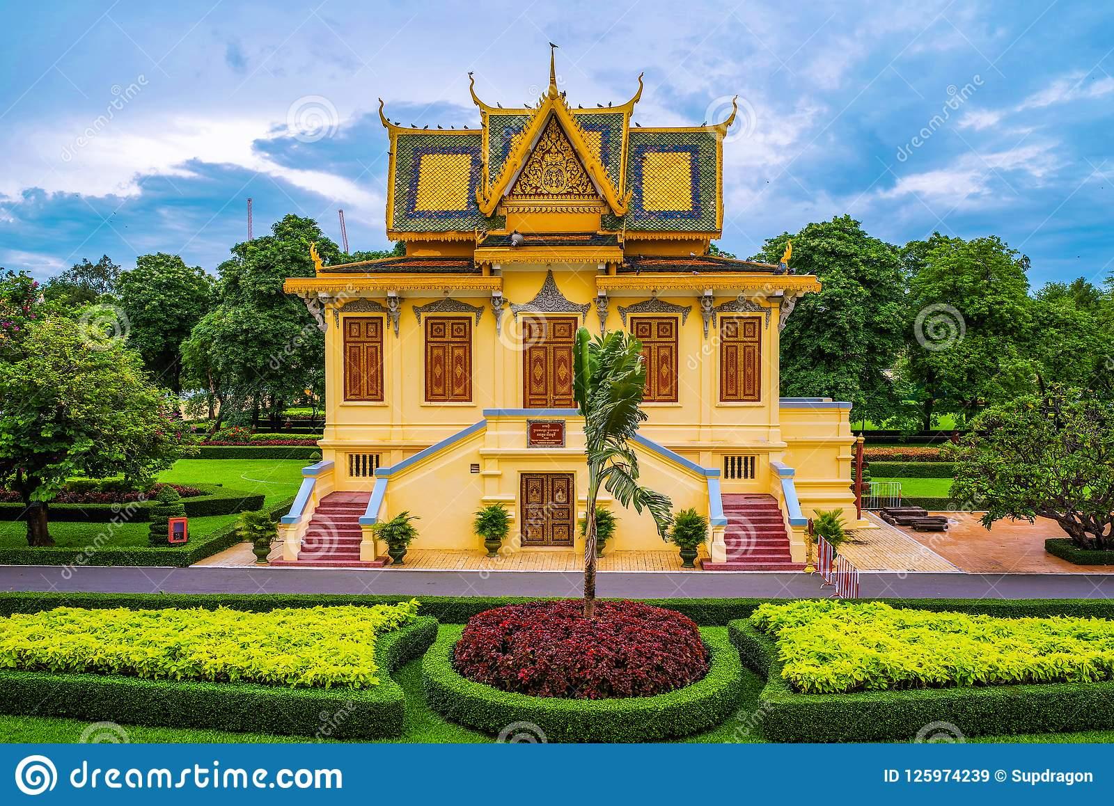 Asia Garten Ottobrunn Schön the Royal Palace In Phnom Penh Cambodia Stock Image Image