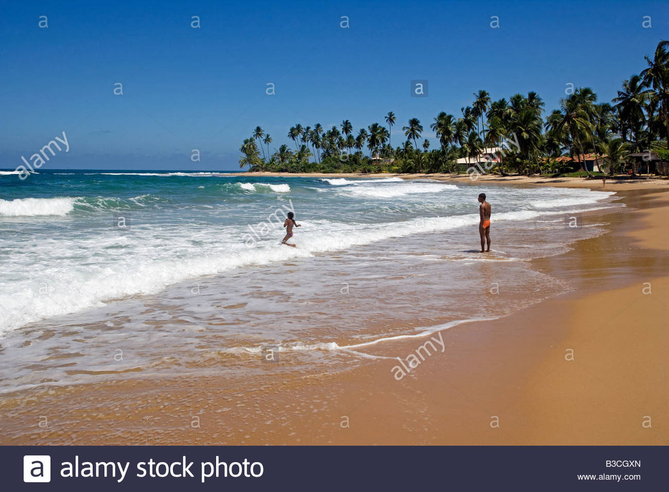 brazil bahia barra grande the empty beaches pristine sand and warm B3CGXN