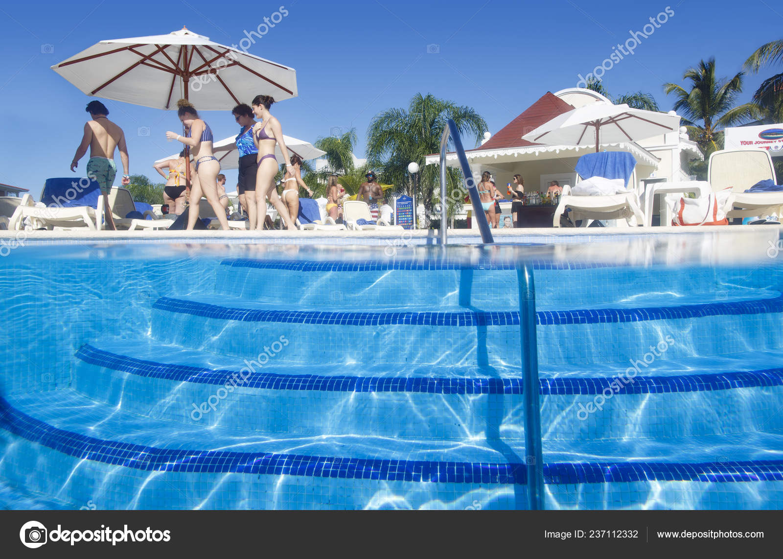 depositphotos stock photo punta cana dominican republic december