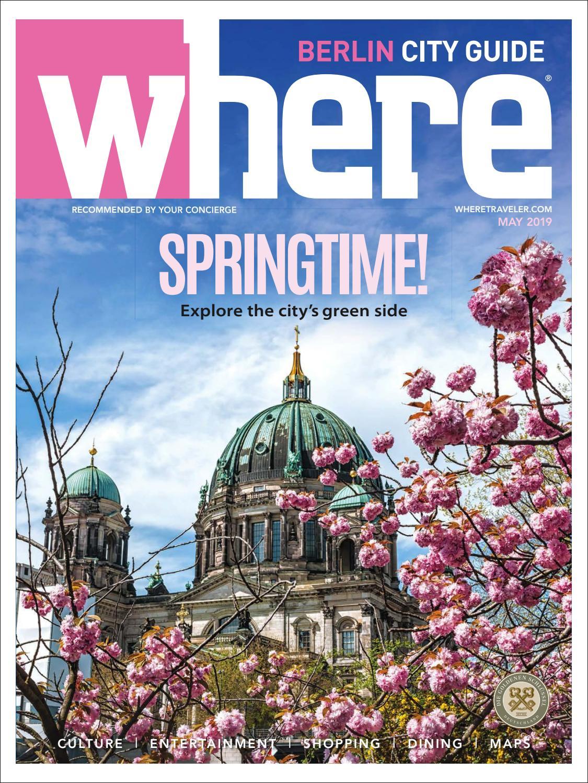 Bahnhof Zoologischer Garten Berlin Schön where Magazine Berlin May 2019 by Morris Media Network issuu