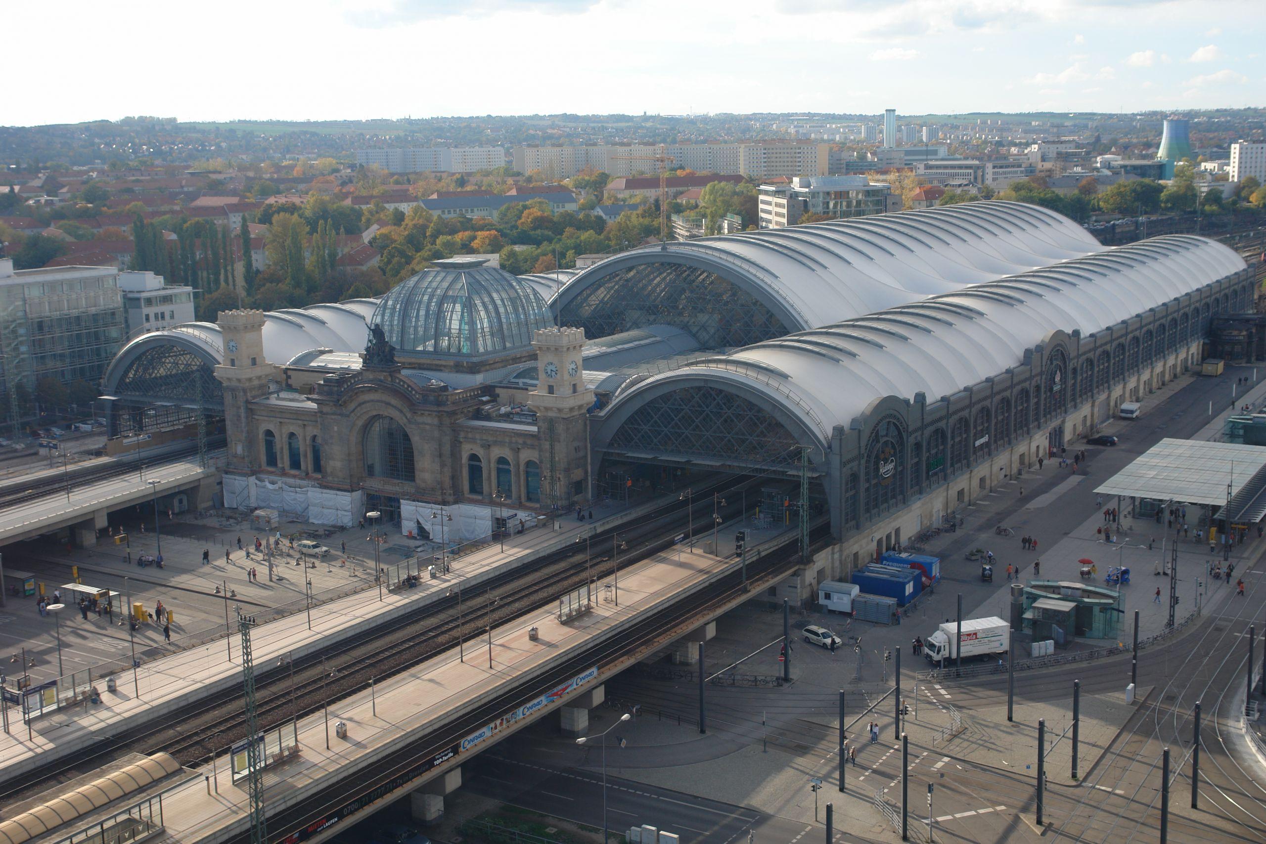 Dresden Germany Main station