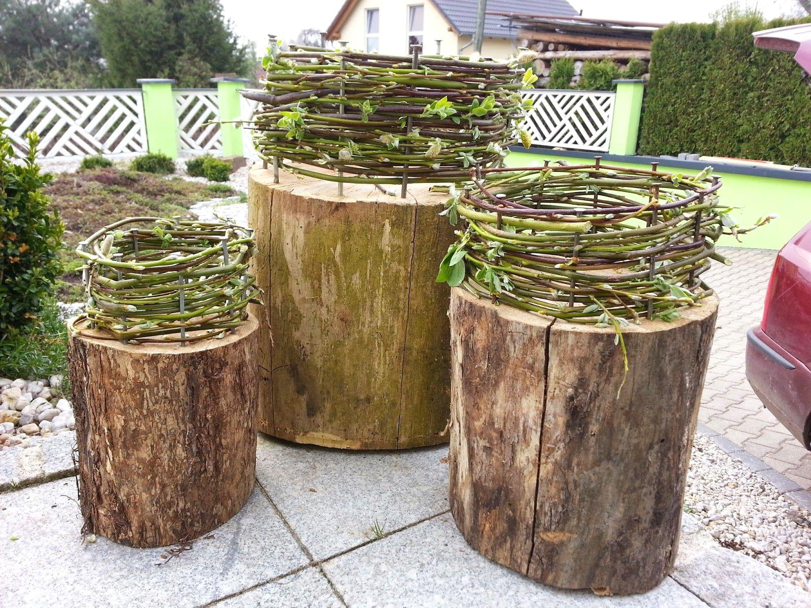 papawerk deko als familienprojekt kinderleicht garten und avec fruhlingsdeko mit birkenholz et 24 fruhlingsdeko mit birkenholz sur la cat gorie home deko ideen