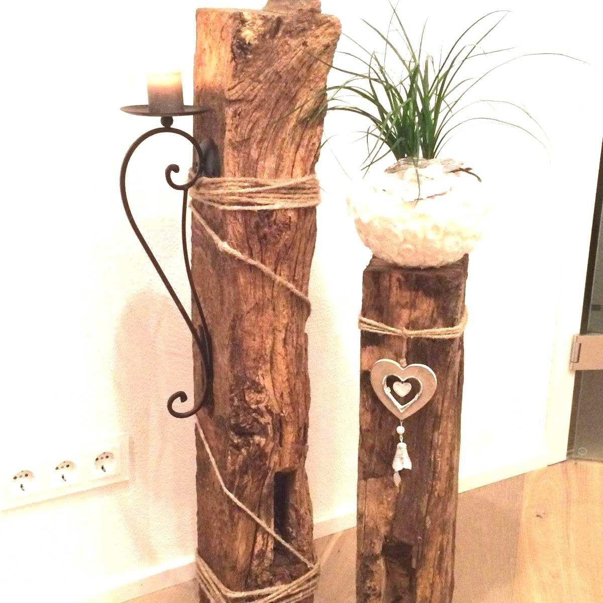 83 Genial Baumstumpf Deko Ideen Garten Deko