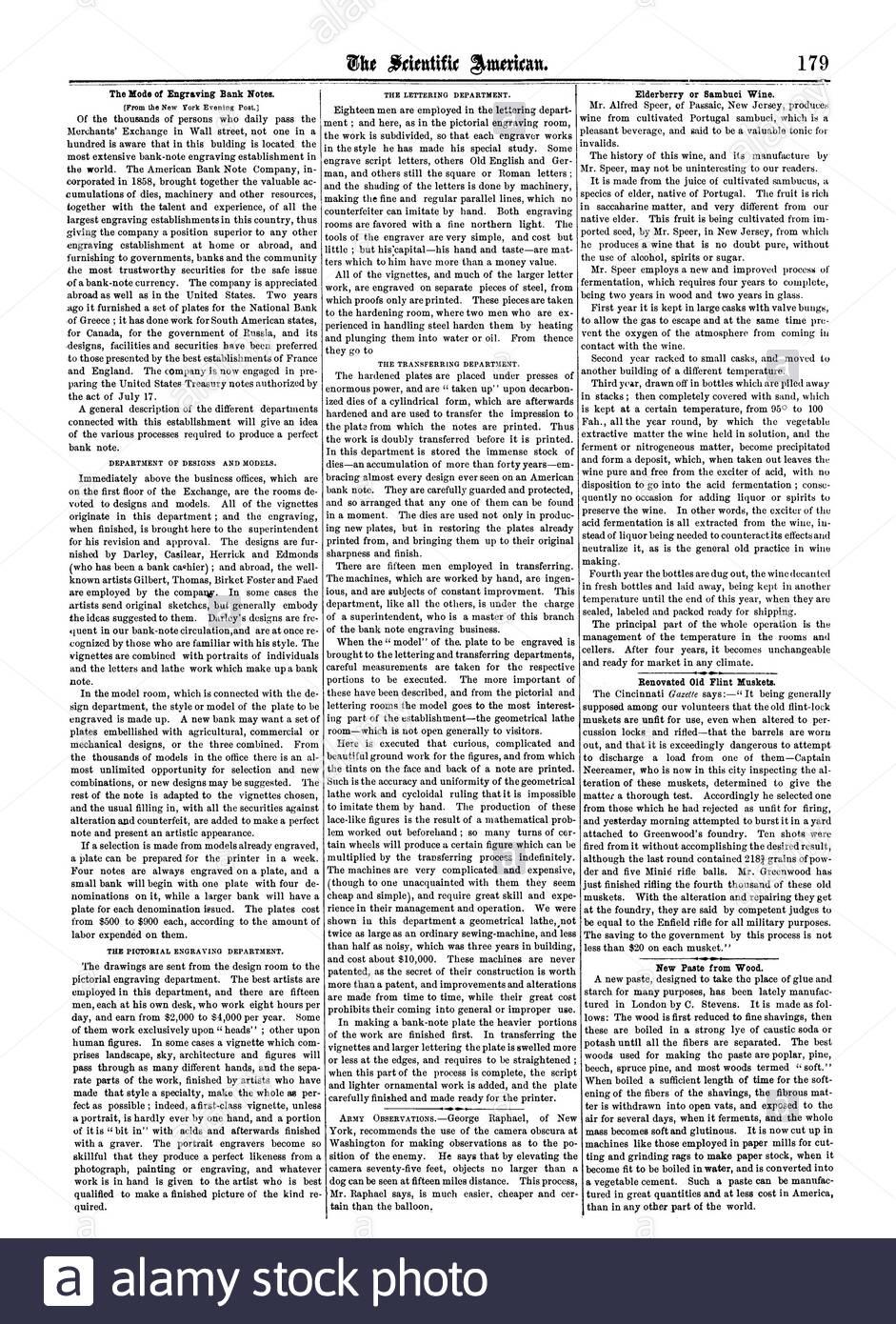 der modus der gravur banknoten holunder oder sambuci wein renovierte alte feuersteine musketen neue paste aus holz scientific american 1861 09 21 2abtep7