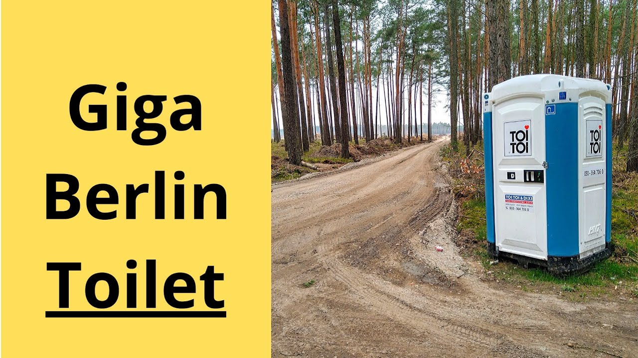 Berlin Britzer Garten Genial Tesla Giga Berlin Installs Portable toilets and Catches Lizards