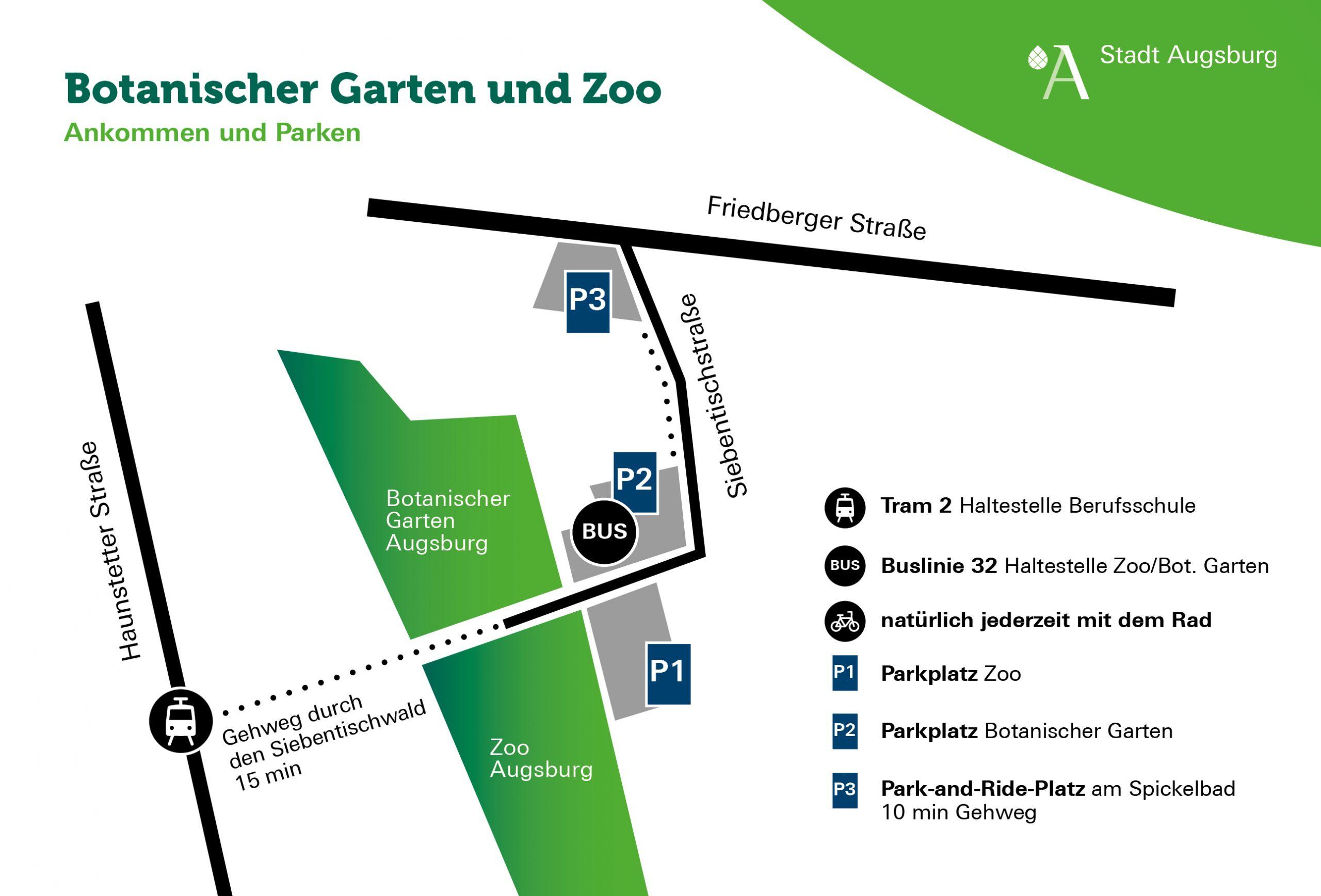 Botanischer Garten Augsburg Programm Einzigartig Detail Stadt Augsburg