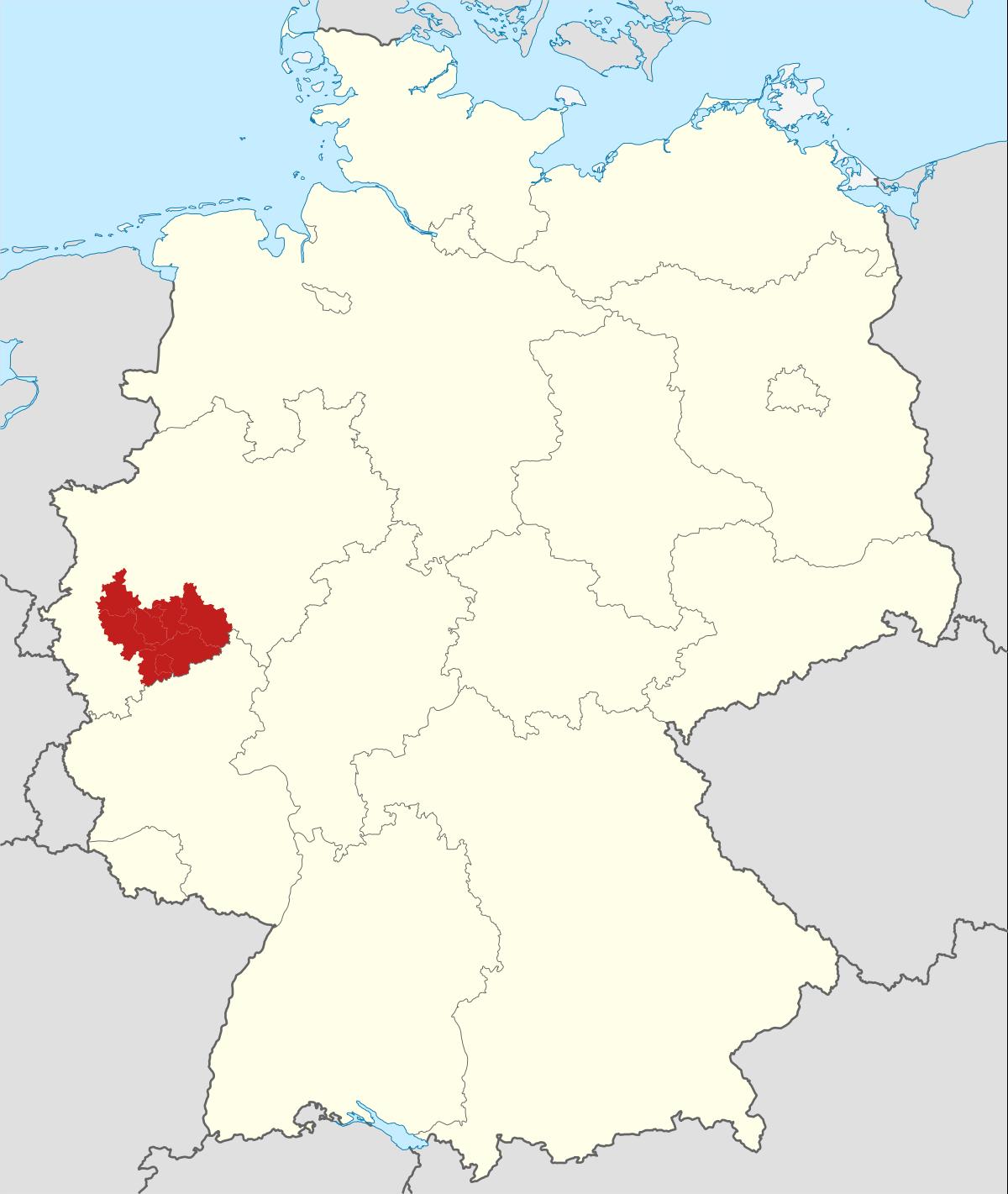 1200px Locator map Region Köln Bonn in Germanyg
