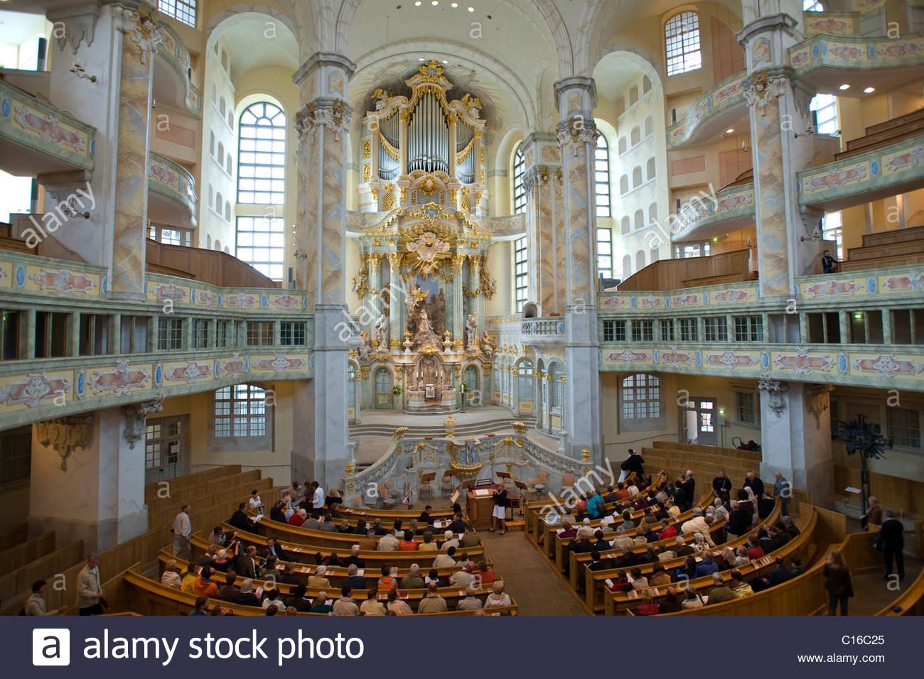 Botanischer Garten Dresden Schön Frauenkirche Church Of Our Lady Interior Dresden Saxony