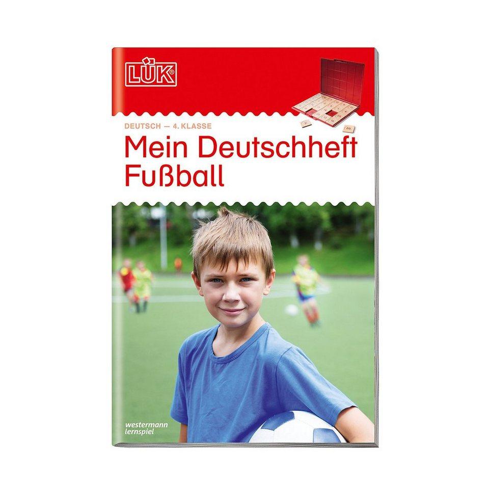 westermann verlag luek mein deutschheft fussball 4 klasse uebungsheft
