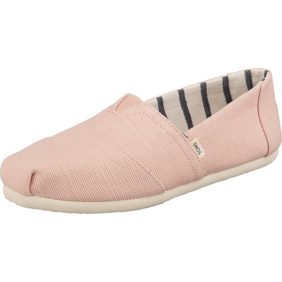 toms alpargata espadrilles pink