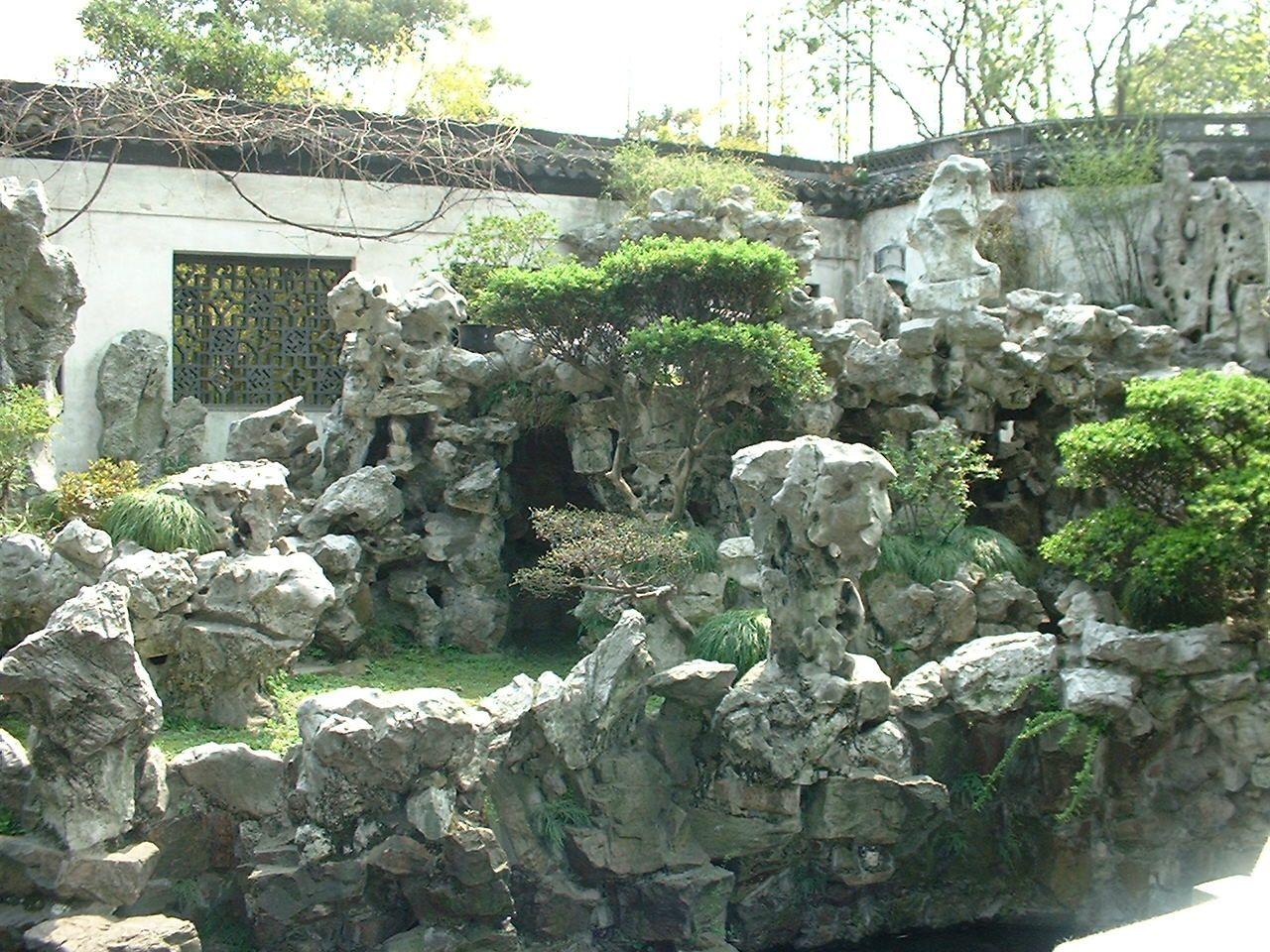 China Garten Einzigartig Chinese Rocks