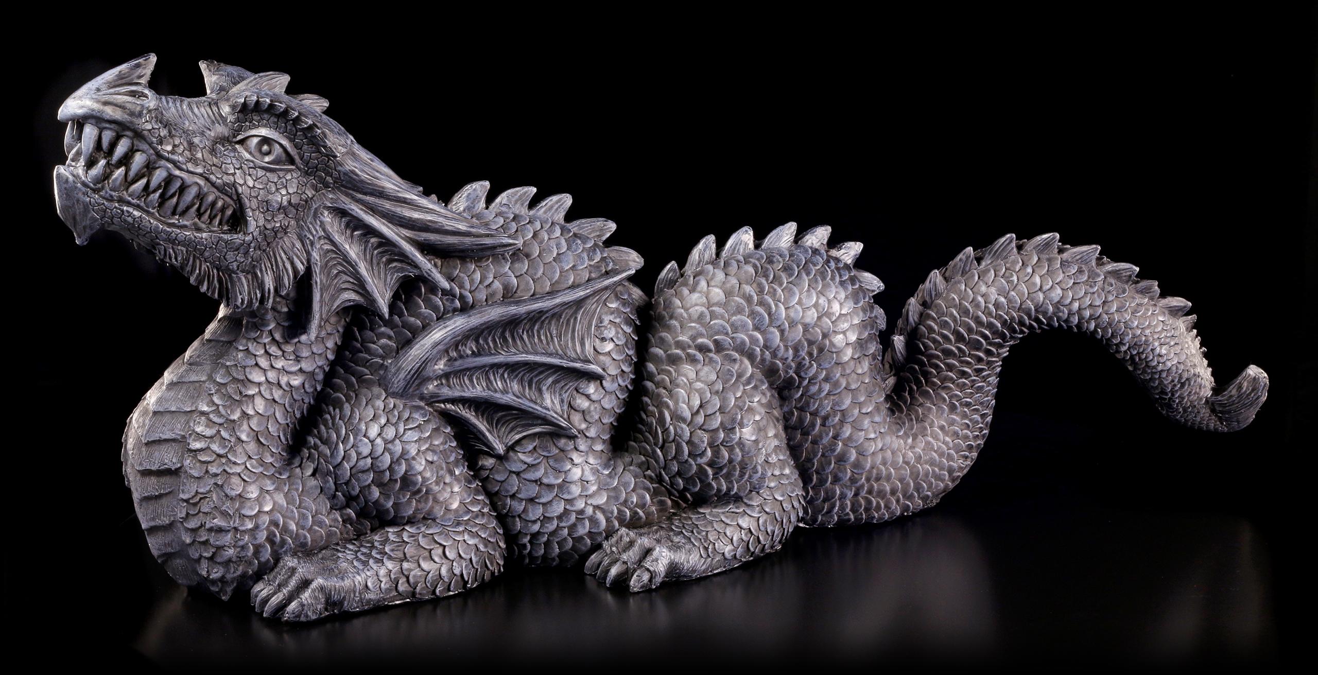 China Garten Inspirierend Garden Figurine Black Chinese Dragon