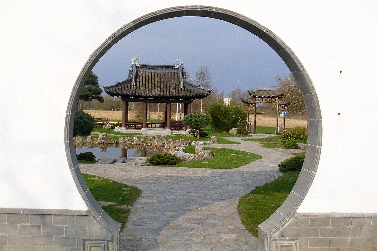 China Garten Schön Gerbang Bulan Bahasa Melayu Ensiklopedia Bebas