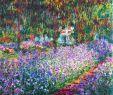 Claude Monet Garten Elegant Monet S Garden the Irises 1900 by Claude Monet