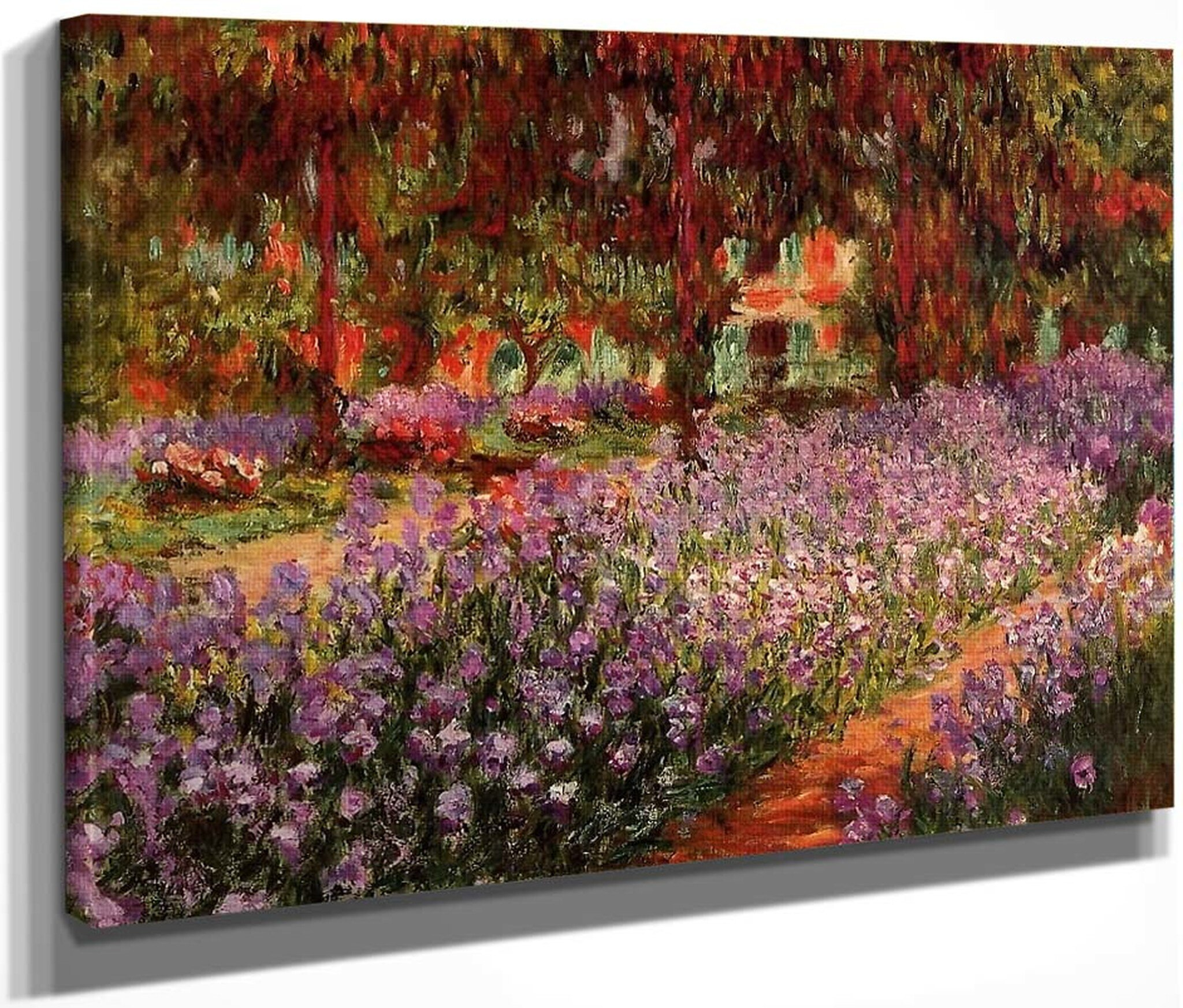 the garden claude oscar monet