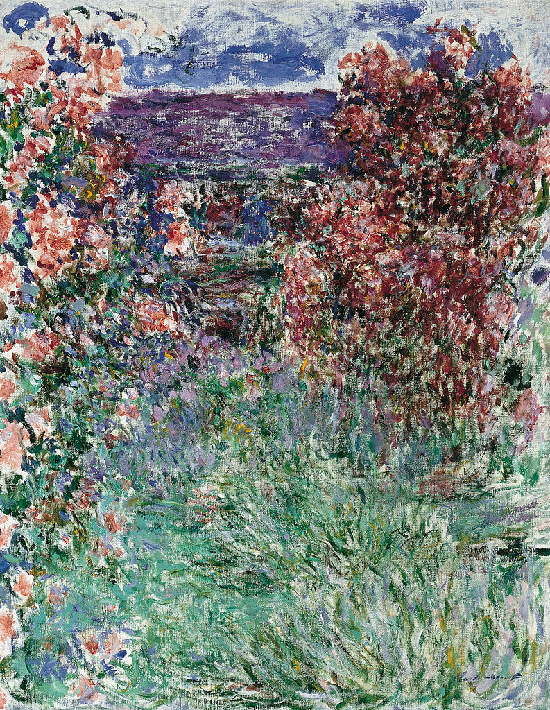 793px Claude Monet House among the Roses the %