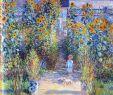 Claude Monet Garten Neu Monet S Garden at Vetheuil 1881 by Claude Monet