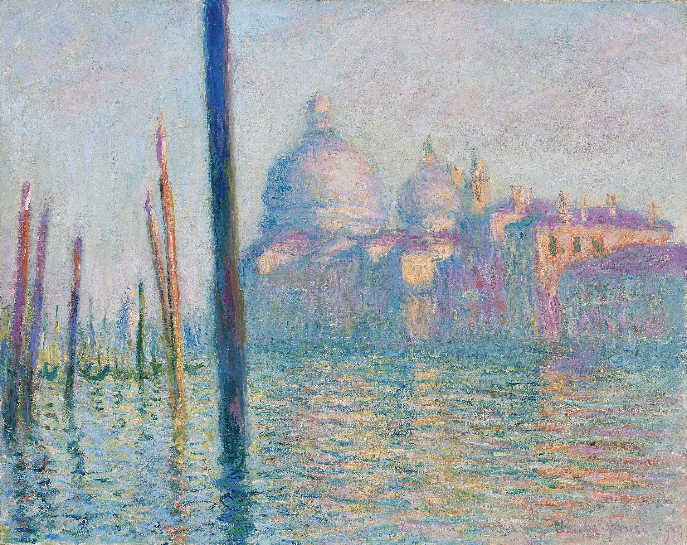 Claude Monet Le Grand Canal