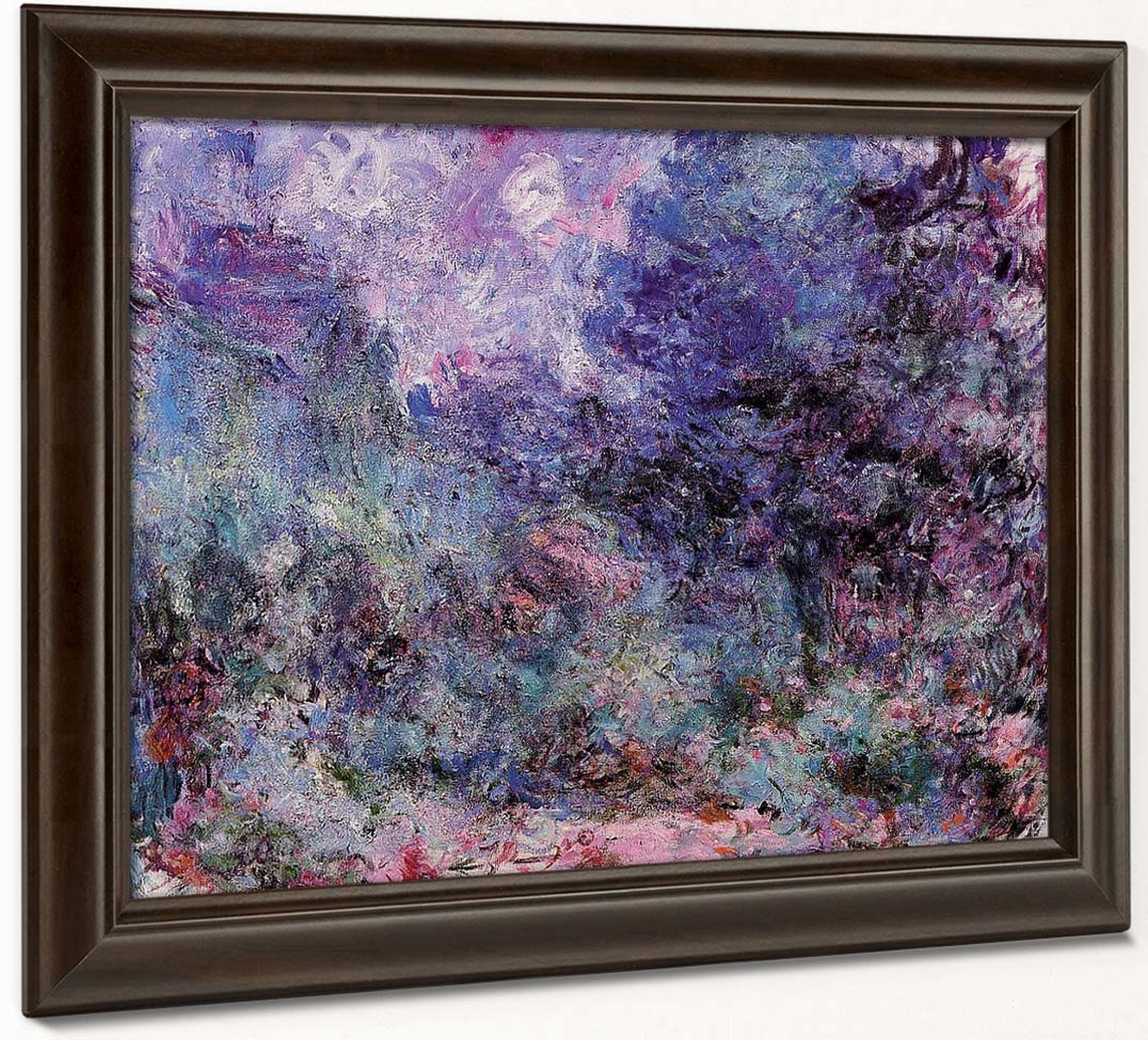 the house seen from the rose garden1 claude oscar monet