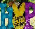 Diy Gartendeko Holz Einzigartig Hop Easter Door Hanger