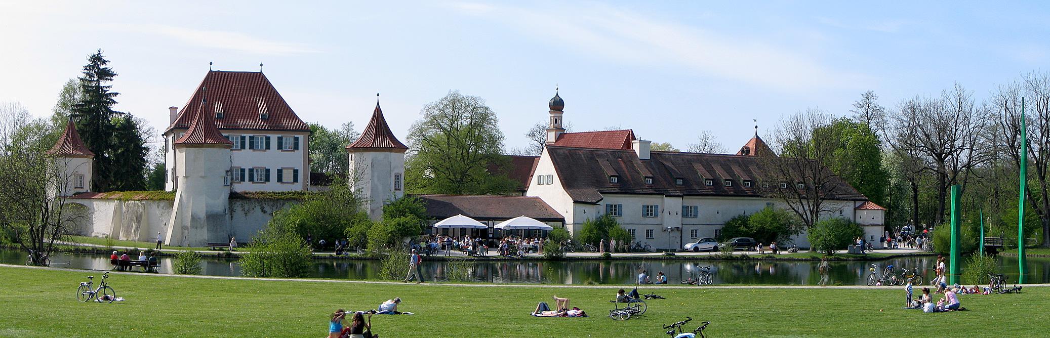 Schloss blutenburg panorama