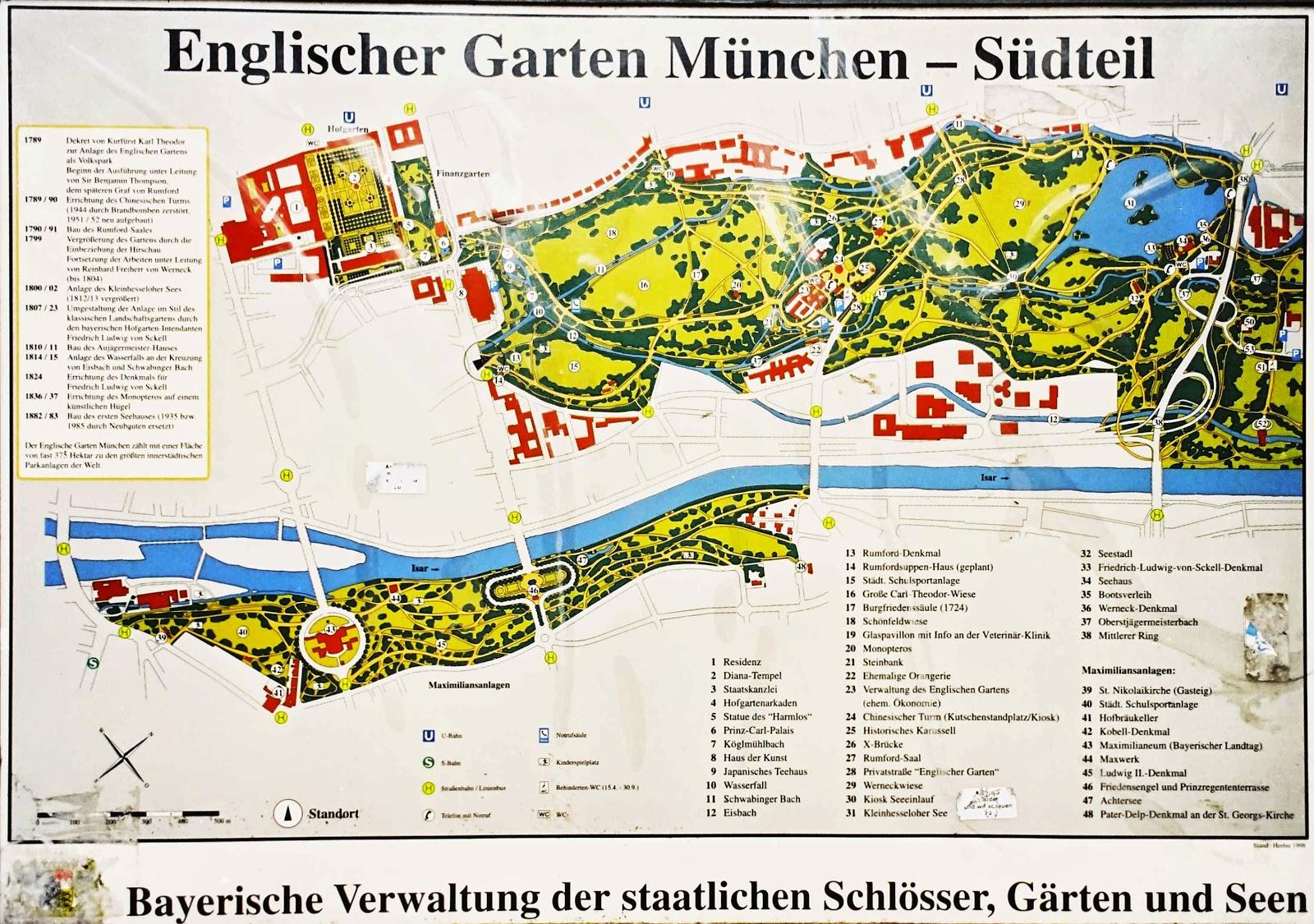 München englischer garten südteil