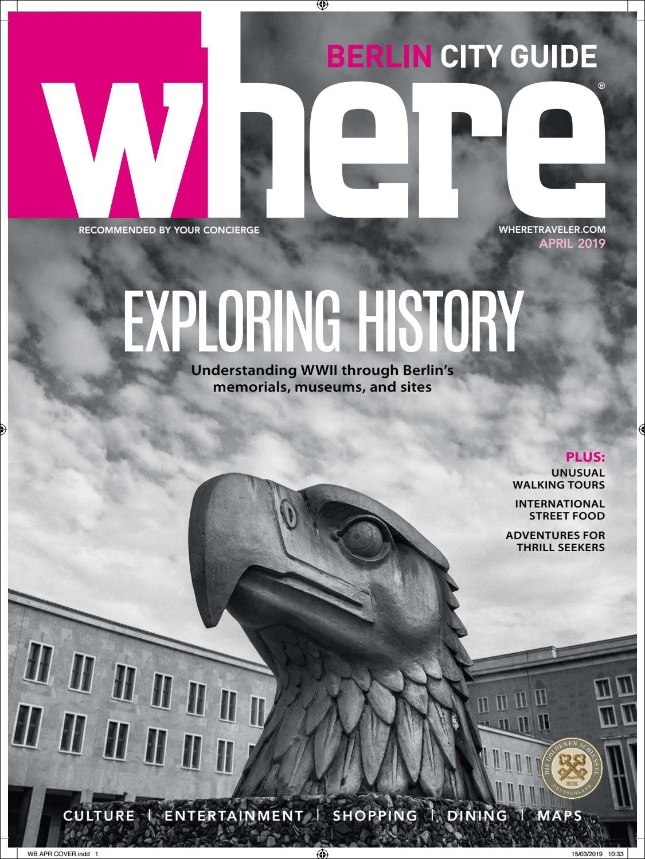 Englischer Garten Berlin Inspirierend where Magazine Berlin Apr 2019 by Morris Media Network issuu